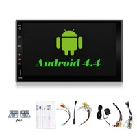 2din Android 6.0 Universal Touch Car PC Tablet double Audio 7'' GPS Navi Car Stereo Radio No DVD Navigation Video Capacitive