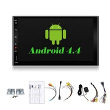 "2din Android 6.0 Universal Touch Car PC Tablet double Audio 7"" GPS Navi Car Stereo Radio No DVD Navigation Video Capacitive"