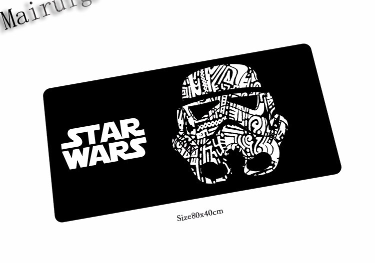 Mairuige Free Shipping Star Wars Fashion Mouse Mat Laptop Padmouse Notbook Computer400x900x2mm Gaming Mousepad Gamer Play Mats