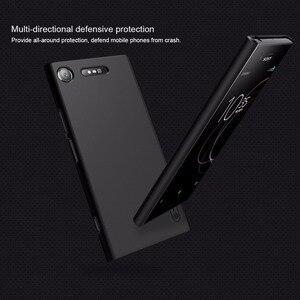 Image 5 - 10 Cái/lốc Bán Buôn Hiệu Nillkin Super Frosted Shield Cho Sony Xperia XZ1 Cứng PC Ốp Lưng Dành Cho Xperia XZ1 ốp Lưng 5.2 Inch