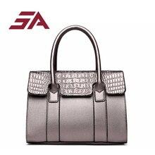 Здесь можно купить  SA New Designer Women Bags Fashion Vintage PU Leather dress Handbags High Quatity Casual Shoulder Messenger Totes Hot Sale