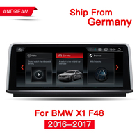10.25 Quad Core Android 4.4 Vehicle multimedia player For BMW X1 F48 (2016 2017)Bluetooth gps navigation Wifi Steering Wheel