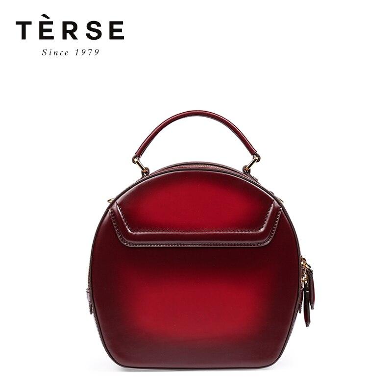 Лаконичный Для женщин сумки ручной работы из коровьей кожи мини сумки молния красивая модная Винтаж сумки Курьерские Сумки Многофункциона