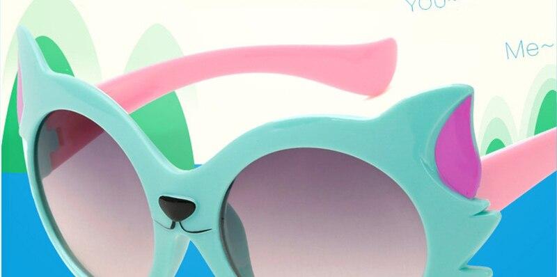 620fdb1f19 LeonLion 2019 nuevas gafas De Sol De zorro De dibujos animados De ...