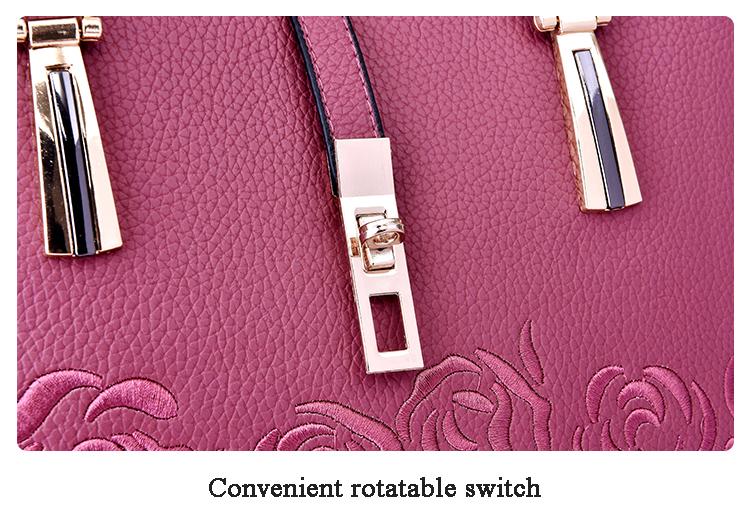 HTB1fRgYXUvrK1RjSspcq6zzSXXaY - ALLKACI 3pcs Leather Bags Handbags Women