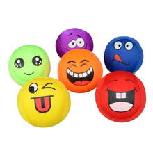 3pcs/set Cute Smiley Face Anti Stress Balls Toys Soft Squeeze Anti-stress Toy Balls for Stress Relief Toy for children cellcosmet anti stress mask