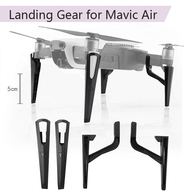DJI Mavic Air Extended stand Landing Gear Heightened Leg Stand Support Protector Extension Replacement Feet Drone Accessories