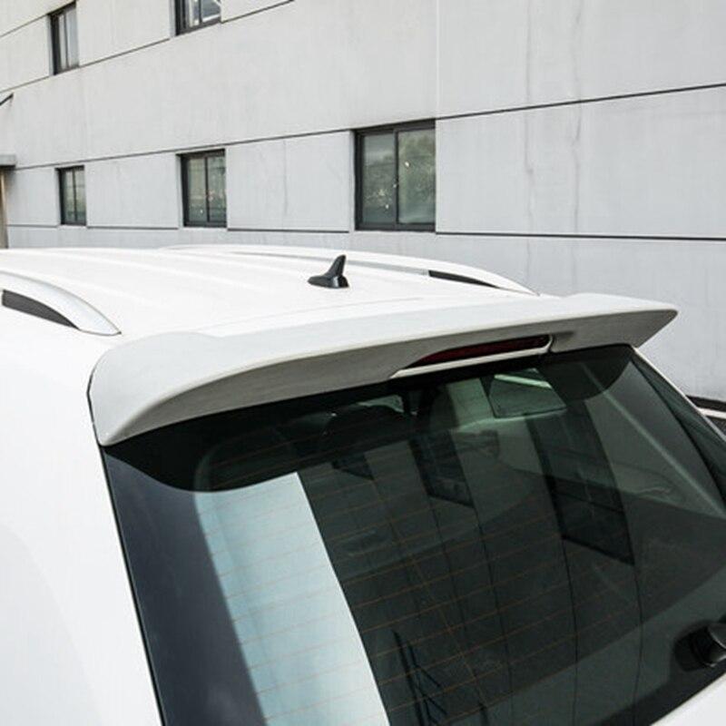 Car Styling New ABS Plastic Unpainted Primer Color Rear Wing Lip Boot Spoiler For VW Volkswagen Tiguan L Spoiler 2017 2018 2019