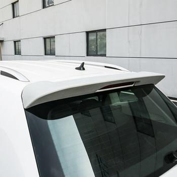 Style de voiture Nouveau Plastique ABS Non Peint Primer Couleur Lèvre D'aile Arrière Boot Spoiler Pour VW Volkswagen Tiguan L Spoiler 2017 2018 2019