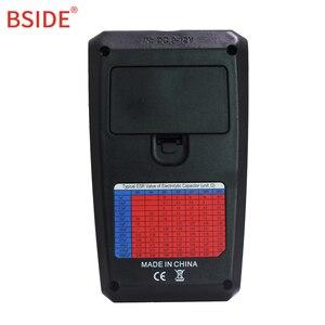 Image 5 - Bside ESR02PROデジタルトランジスタsmd部品テストジタルマルチメータキャパシタンスダイオードトライオードインダクタンスマルチテスター