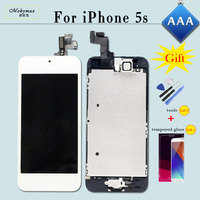 Replacement For IPhone 5S A1457 A1533 A1530 LCD Screen Ecran Display Digitizer Full Assembly Module Home
