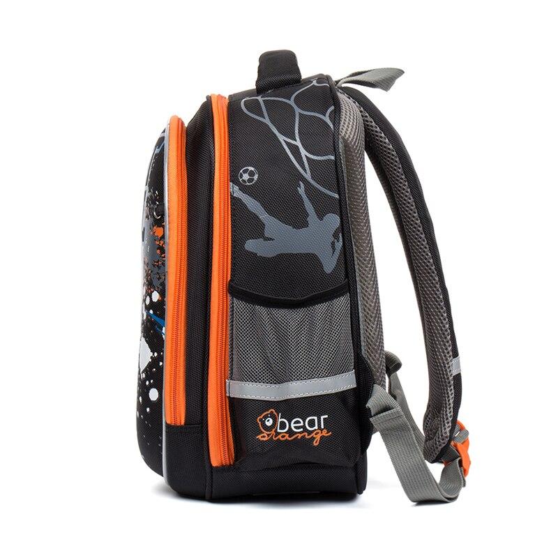 Nouveau 1-2 grade enfants marque sacs d'école orthopédiques enfants Cartoon école sacs à dos cartable pour garçons en nylon livre sac 3 couleurs - 3
