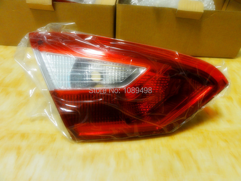 1 PC rear lamp LH driver side inner tail light Without Bulb BM51-13603-A for Ford Focus 3 2012-2013 1 pcs lh left side outer taillamp tail light rear lamp light for ford mondeo 2011 2012