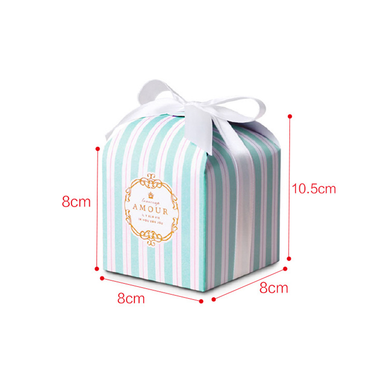 Flower Boxes Gift Packaging Box Party Present Wedding Boxes For Candy Cake Sweet Birthday chocolate Bonbonniere Boite Dragees in Gift Bags Wrapping Supplies from Home Garden