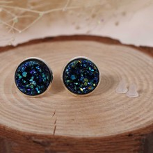 Natural Stone Women's Stud Earrings