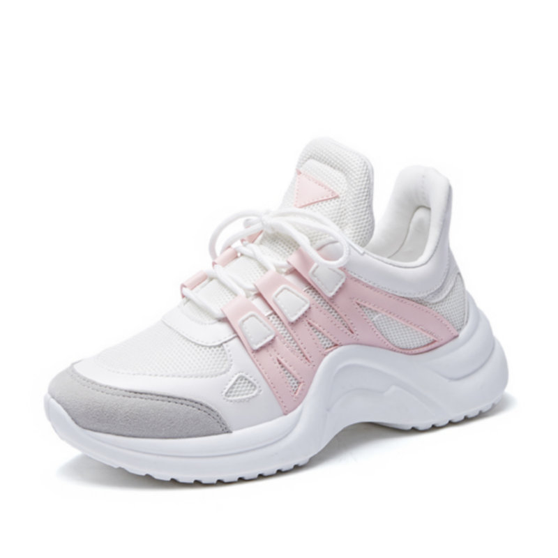 Women Sneakers Plus Size 35-42 Platform Shoes Ladies Height Increasing Chunky Zapatillas Sujer