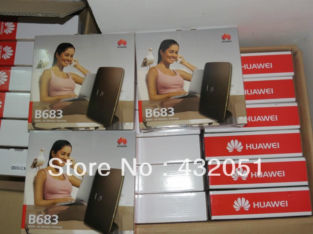 Huawei B683 UMTS HSPA + როუტერი 28.8Mbps - ქსელის აპარატურა - ფოტო 2