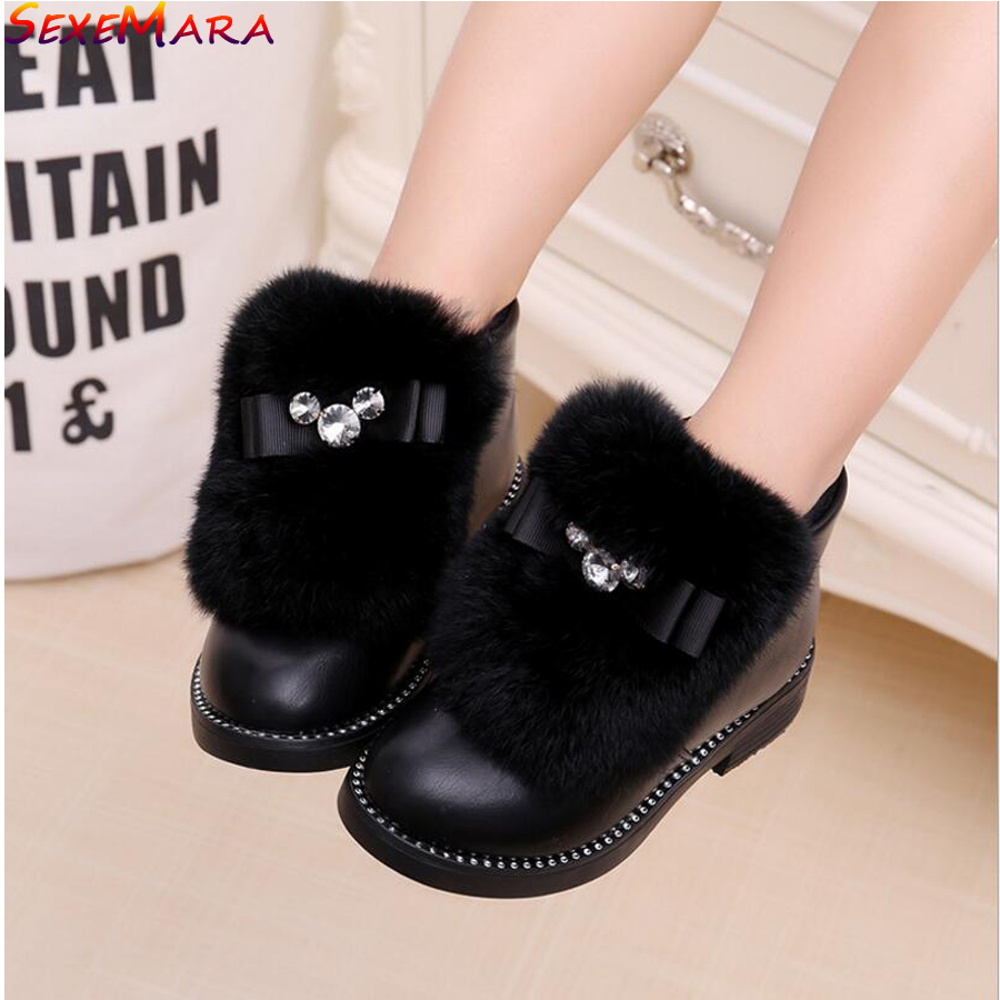 2017-Girls-princess-Winter-Leather-shoes-for-Party-or-Wedding-Baby-Girl-Fashion-Fur-Bow-Waterproof-Girls-New-brand-Leather-Shoes-1