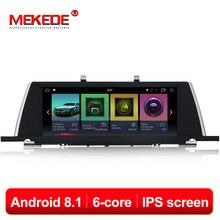 MEKEDE шесть ядер Android 8,1 автомобильный мультимедийный плеер DVD gps навигация для BMW 5 серии GT F07 2009-2016 CIC NBT система 4G Lte