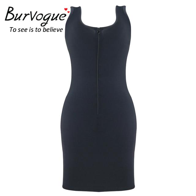 Burvogue Shapers for Women Push Up Slip Full Body Shaper Shaper Dress Sexy Shapewear Zipper Thin Slim Breathable Shapers