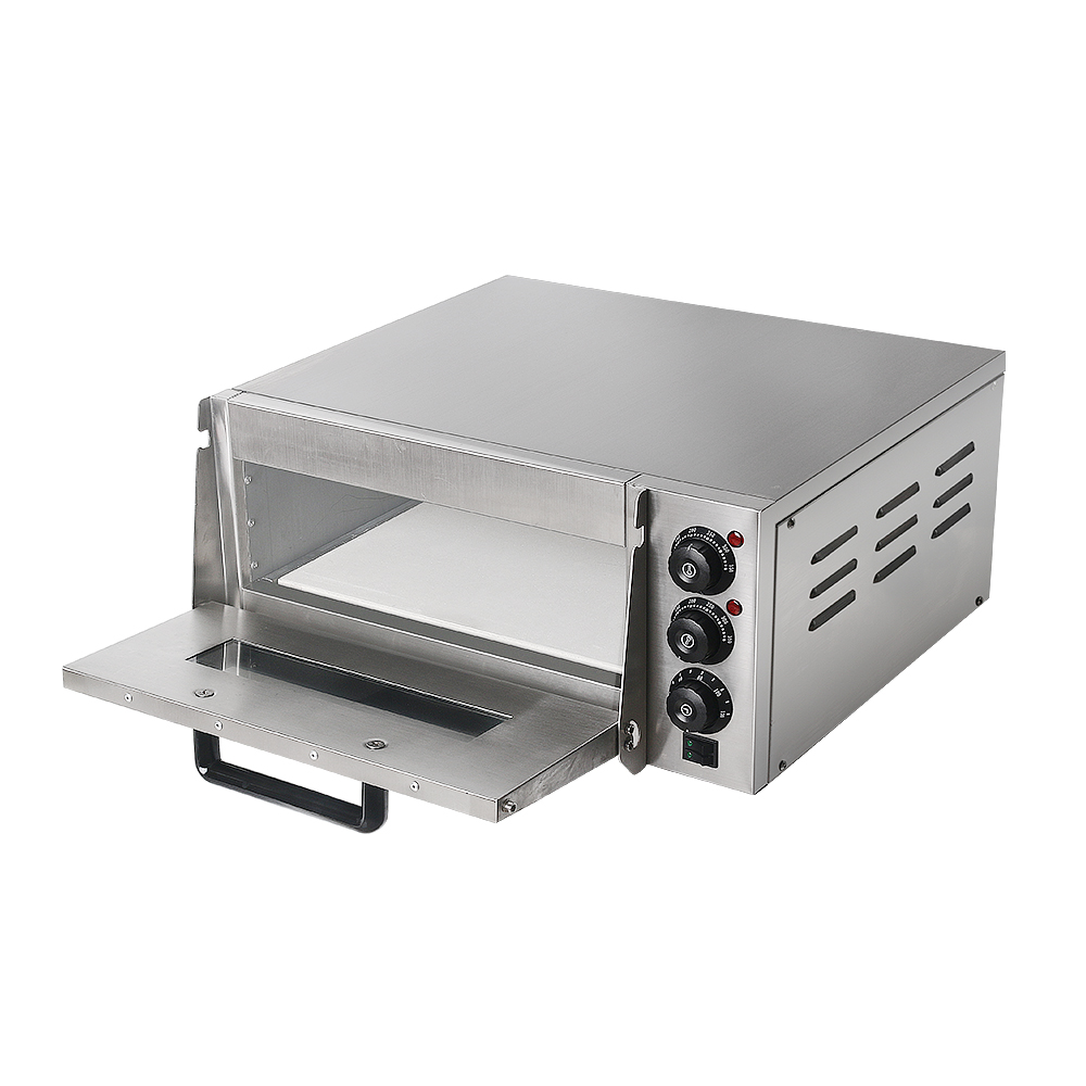 ITOP Pizza Oven 2KW Commercial Electric Pizza Oven Single Layer Professional Electric Baking Oven Cake Bread Pizza With Timer in Ovens from Home Appliances