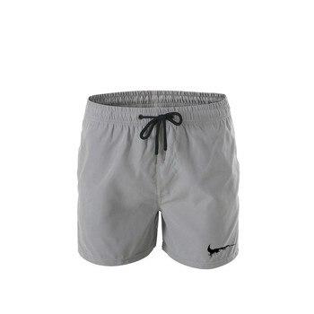 New Hot Sale Mens Brand Logo Printed Shorts Men High Quality Beach Shorts M-3XL Board Beach Shorts Men Gyms Shorts Men's Casual Shorts