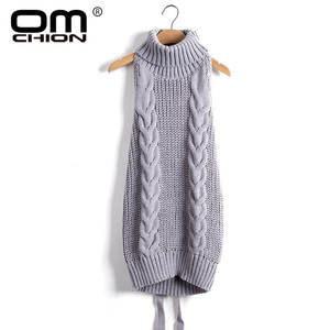 OMCHION 2019 Long Knitted Women Sweaters And Pullovers
