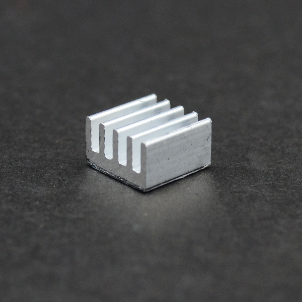 6PCS A4988 Heatsink Aluminum Heat Sink Stepper Driver For 3D Printer Parts free shipping 10pcs lot heat sink for a4988 a4983 stepper driver