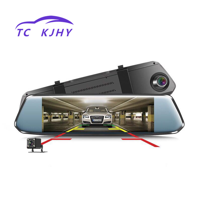 High Definition Touch Screen 7 Inch Dash Cam Car DVR High Speed Recorders Function Concealed Recorder Circular Video Display
