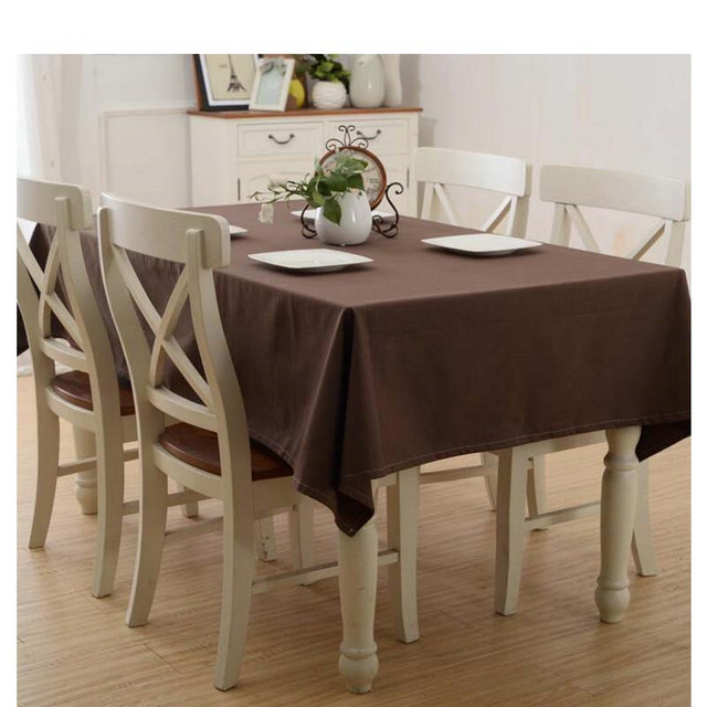 Diamond Mosaic 1 Piece Solid Color Tablecloth For Dining Table Cloth  Rectangle Table Linen Table