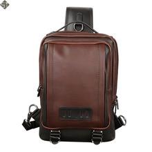 Fashion Brand Men's Shoulder Bag Vintage Men Crossbody Bag Men Chest Bags Casual Fashion PU Leather Men Messenger Bag