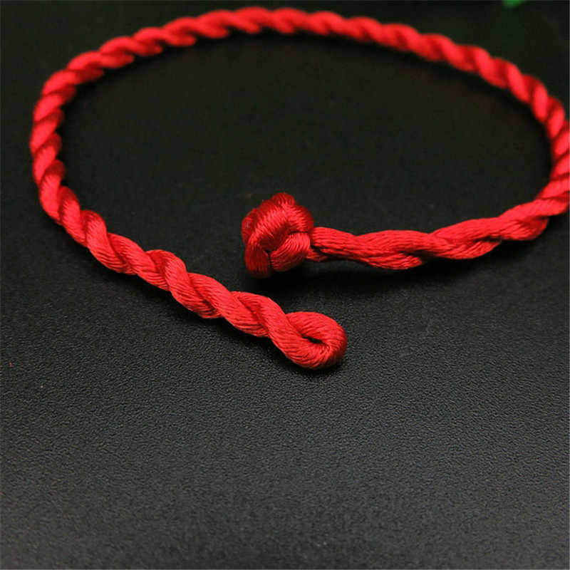 Charms Good Luck Red String of Fate Rope Bracelets Friendship Bangle Fashion Handmade Cord Lucky Kabbalah Bracelet Jewelry Gift