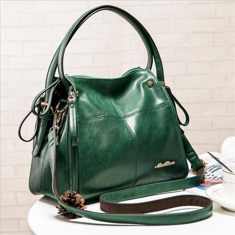 2017 New designer women leather handbags high quality shoulder bags handbags women famous brands women crossbody