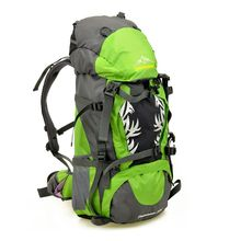 50L Professional Mountaineering Outdoor Bags Large Capacity Sports Backpack Waterproof Wear Travel Bags DSB72