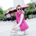 aliexpress china cheap wholesale 2017 autumn winter new women fashion casual Slim Long section Hooded Vest