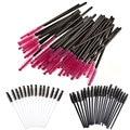 100PCS Disposable Eyelash Brush Mascara Wands Applicator Spoolers Eye Lash Makeup Tool
