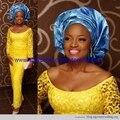 100% materiales de poliéster cordones cordón africano de color oro para coser/guipur suizo tela de encaje para vestidos de novia de alta calidad