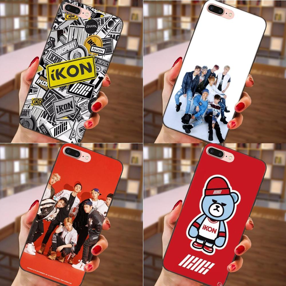 Nice Tpu Covers For Samsung Galaxy A3 A5 A6 A6s A7 A8 A9 Star Plus 2016 2017 2018 Ikon Kpop Flexibles Nourishing The Kidneys Relieving Rheumatism Half-wrapped Case