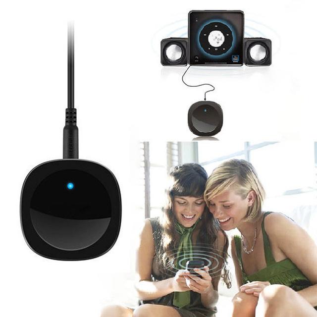 Mecall Tecnologia Sem Fio Bluetooth A2DP Receptor De Áudio Música Dongle 3.5mm RCA Adaptadores