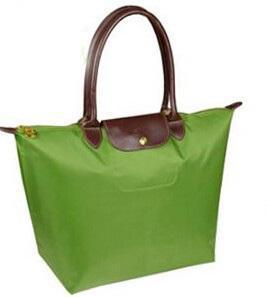 4d53596d7522e Marca mujeres largo Nylon bolso de mano para mujer Vintage Hobos plegable  impermeable para mujer del mensajero de la PU bolsos de asa sacos en de en  ...