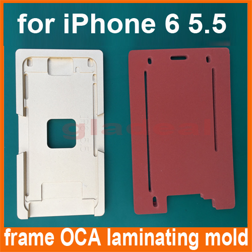 Aluminium Glass Frame Mold for iPhone 6 Plus of LCD Touch Screen Separator OCA Laminating Display Repair Refubish Machine Tool 15ml b7000 multipurpose adhesive diy tool jewelry rhinestones fix touch screen phone middle frame housing glass tube glue b 7000