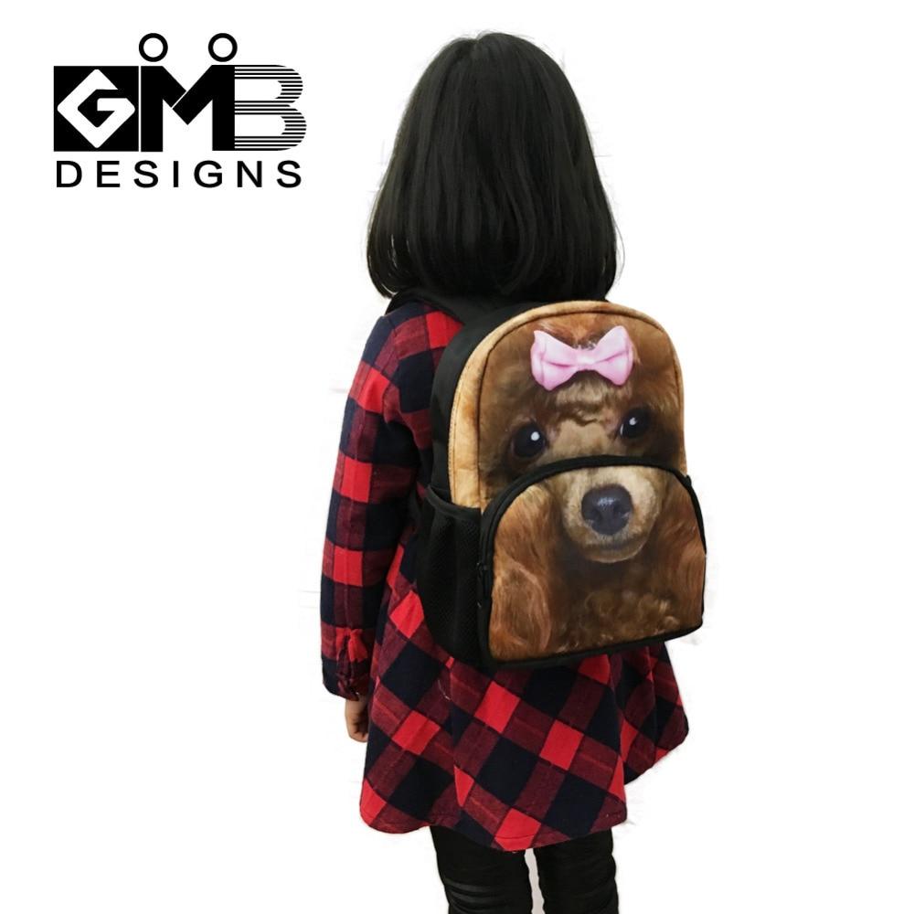 Dispalang Animal Printing School Bags For Kids Small Backpack Cat Schoolbag Kindergarten Bag Children Book Bag Mochila Infantil