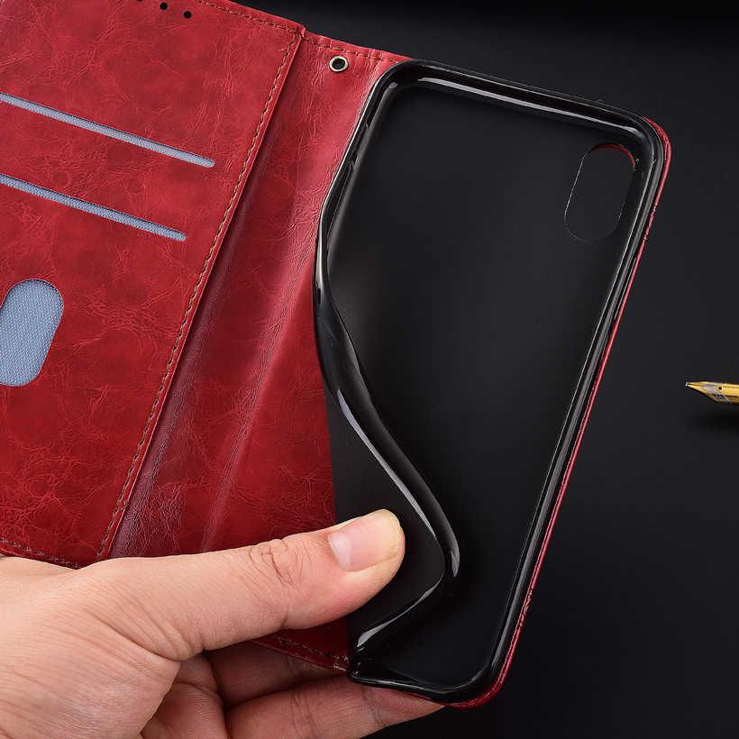 Чехол-кошелек для iPhone 5 5S 6 6S 7 8 Plus с ремешком для iPhone X XS XR XI XIR Max Kickstand Capa с карманом для карт