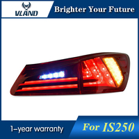 2Pcs Car Rear Lamp For Lexus IS 250 LED Tail Lights Year 2006 2012