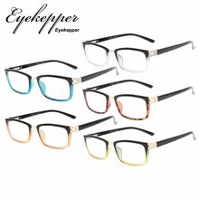 R152 5pcs-Mix Eyekepper Reading Glasses Spring Hinges Readers Men Women (One for each color)(China)