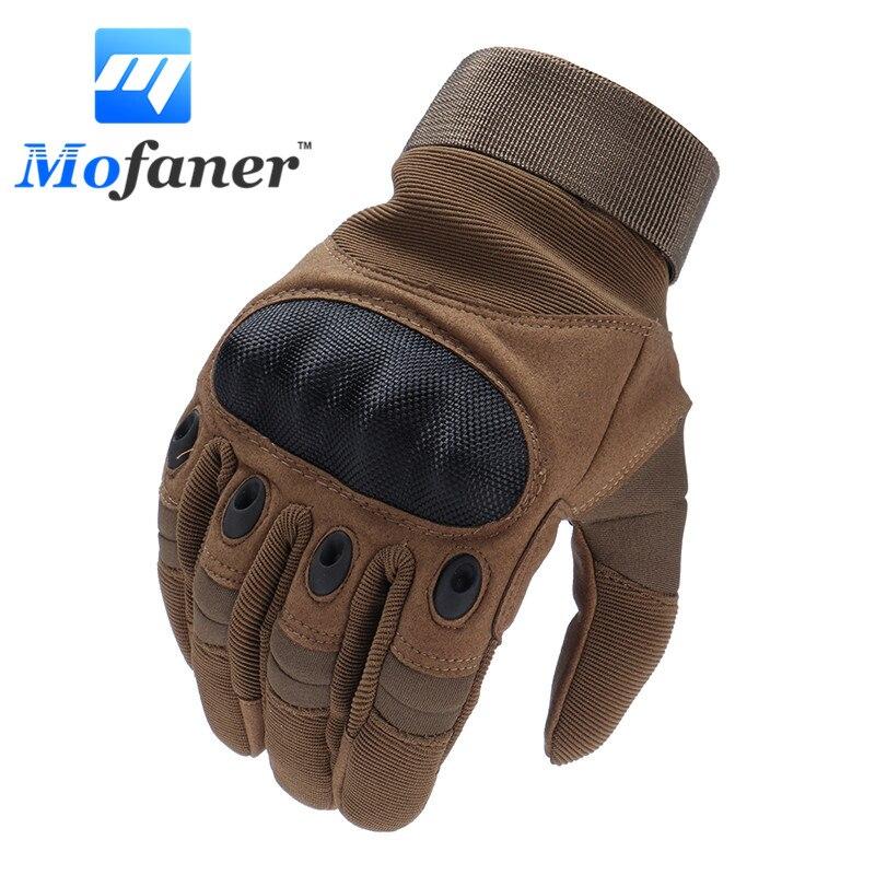Mofaner guantes de la motocicleta completo dedo al aire libre deporte de carreras de moto de Motocross protectora transpirable guante
