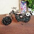 Новые ожидаемые ручной бронзовый цвет металла модели мотоциклов игрушки для детей подарок на день рождения