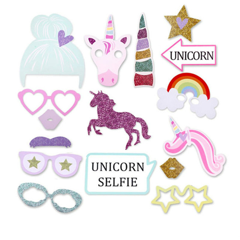 9Pcs Unicorn Balloon Birthday Party Decorations Kids Foil Balloons Wedding Anniversary Decor Rainbow Globos Party Supplies PA139 in Ballons Accessories from Home Garden