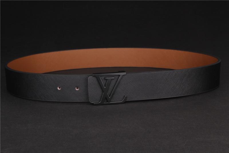 8be32fefe44ce designer mens belts gold buckle big yards Black belts free real ...
