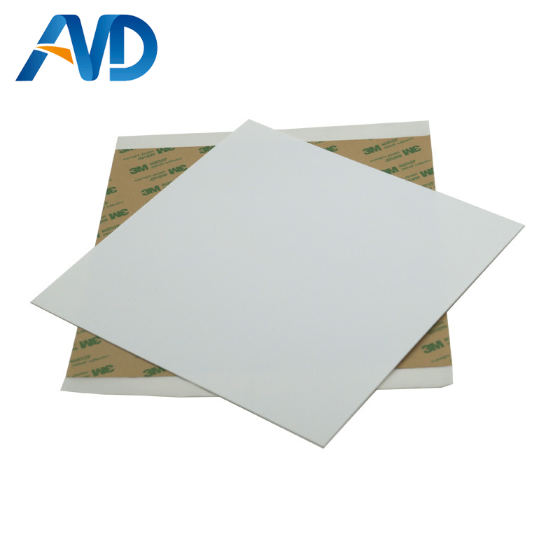 все цены на 1pc 120/8''/214mm/220mm/10''/12'' PEI Frosted White 3D Pring Build Surface Polyetherimide Cold PEI Sheet 1mm thickness онлайн